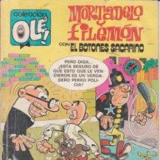 Tebeos: COMIC OLÉ! -MORTADELO Y FILEMÓN- Nº 222-M19 FRMTO.ORGNAL.2ª ED.1987 EDICIONES.-B- 200 PTAS.. Lote 77253597