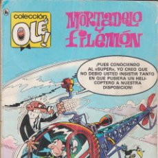 Tebeos: COMIC OLÉ! -MORTADELO Y FILEMÓN- Nº 218 FRMTO.ORGNAL.2ª ED.1986 EDITORIAL BRUGUERA 160 PTAS.. Lote 77253909