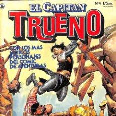 Tebeos: CAPITAN TRUENO Nº 4 - BRUGUERA 1986. Lote 77368121