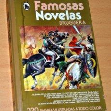Tebeos: FAMOSAS NOVELAS - TOMO XX - LA DAMA DEL LAGO Y MÁS - EDITORIAL BRUGUERA - 1ª EDICIÓN - MAYO 1982. Lote 77449597