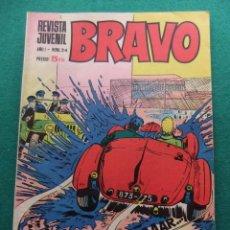 Tebeos: REVISTA BRAVO Nº 24 EDITORIAL BRUGUERA. Lote 77519185