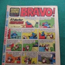 Tebeos: REVISTA BRAVO Nº 38 EDITORIAL BRUGUERA. Lote 77519497