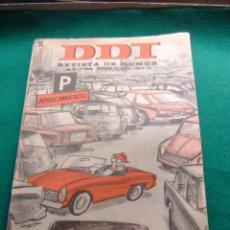 Tebeos: EL DDT Nº 747 2ª EPOCA EDITORIAL BRUGUERA. Lote 77731289