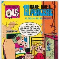 Tebeos: COLECCIÓN OLÉ! - 13, RUE DEL PERCEBE - ED. BRUGUERA - Nº 23 - 7ª EDICIÓN - 1986. Lote 279507683