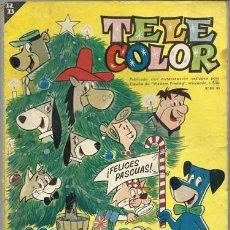 Tebeos: TELE COLOR, ALMANAQUE PARA 1964, BRUGUERA. Lote 78009857