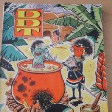 Tebeos: TEBEO COMIC EL DDT NUMERO 477 AÑO X 1960 BRUGUERA TBO-18. Lote 78115833