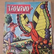 Tebeos: TEBEO CÓMIC TIO VIVO Nº152 1958 BRUGUERA TBO-60. Lote 78126741