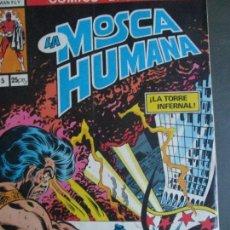 Tebeos: LA MOSCA HUMANA. Lote 78147309