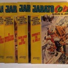 Tebeos: COL. JABATO COLOR. ALBUM DEL JABATO. NÚMS. 9 - 10 - 14 - 24.. Lote 78231333