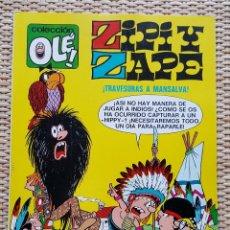 Tebeos: ZIPI Y ZAPE (¡TRAVESURAS A MANSALVA!) - Nº 26 - 1º EDICIÓN DE 1971 - COLECCIÓN OLE - BRUGUERA. Lote 78329937