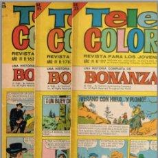 Tebeos: TELE COLOR X 3- BONANZA CON GUIÓN DE VICTOR MORA (EL CAPITAN TRUENO) - VIAJE AL FONDO DEL MAR........ Lote 78381177