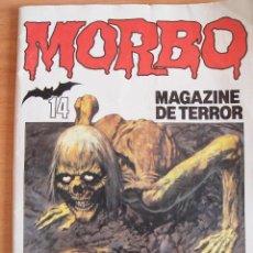 Tebeos: MORBO, MAGAZINE DE TERROR Nº 14. MUY BUEN ESTADO. Lote 78921921