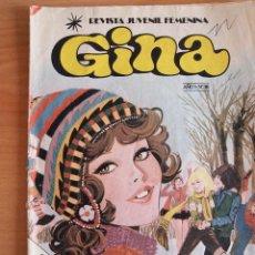Tebeos: LOTE TRES REVISTAS GINA. BRUGUERA 1978. Nº 17, 38 Y 39. Lote 78922873