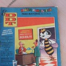 Tebeos: TEBEO CÓMIC EL DDT Nº 324 AÑO VII AGOSTO 1957 BRUGUERA TBO-158. Lote 79101505