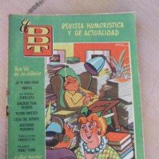 Tebeos: TEBEO CÓMIC EL DDT Nº 317 AÑO VI JUNIO 1957 BRUGUERA CO-388. Lote 79101797