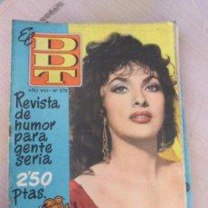 Tebeos: TEBEO CÓMIC EL DDT AÑO VIII Nº370 JUNIO 1958 BRUGUERA TBO-164. Lote 79102985