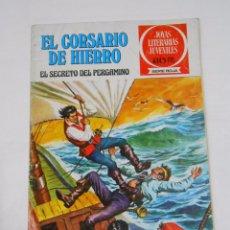 Tebeos: EL CORSARIO DE HIERRO Nº 8. EL SECRETO DEL PERGAMINO. JOYAS LITERARIAS JUVENILES. TDKC21. Lote 79158953