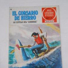 Tebeos: EL CORSARIO DE HIERRO Nº 50. LA ESTELA DEL COURAGE. JOYAS LITERARIAS JUVENILES. TDKC21. Lote 79159309