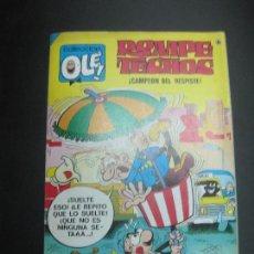 Tebeos: COLECCION OLE Nº 36. ROMPETECHOS. CAMPEON DEL DESPISTE ED. BRUGUERA 1986... Lote 79213069