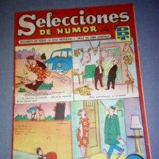 Tebeos: 1018- TEBEO/COMIC SELECCIONES DE HUMOR ( DDT) - AÑO 50/60 -- N º 25. Lote 79235693