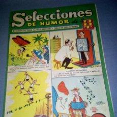 Tebeos: 1018- TEBEO/COMIC SELECCIONES DE HUMOR ( DDT) - AÑO 50/60 -- N º 20. Lote 79241001