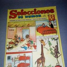 Tebeos: 1018- TEBEO/COMIC SELECCIONES DE HUMOR ( DDT) - AÑO 50/60 -- Nº 33. Lote 79275917