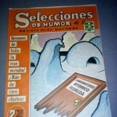 Tebeos: 1018- TEBEO/COMIC SELECCIONES DE HUMOR ( DDT) - AÑO 1958 -- Nº 91. Lote 79277249