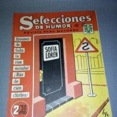 Tebeos: 1018- TEBEO/COMIC SELECCIONES DE HUMOR ( DDT) - AÑO 1958 -- Nº 95. Lote 79282257