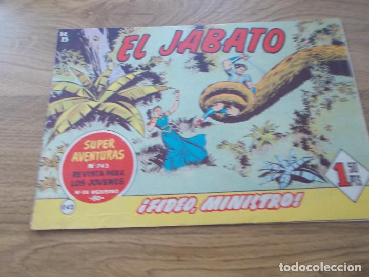 EL JABATO Nº 242 (Tebeos y Comics - Bruguera - Jabato)