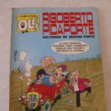 Tebeos: RIGOBERTO PICAPORTE Nº 7 / BRUGUERA OLE / 1ª EDICION. Lote 79741597