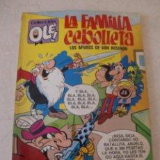 Tebeos: LA FAMILIA CEBOLLETA Nº 59 / BRUGUERA OLE / 1ª EDICION / LOS APUROS DE DON ROSENDO. Lote 79861487