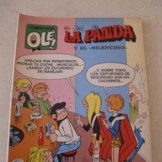 Tebeos: LA PANDA Nº 40 / BRUGUERA OLE / 1ª EDICION / Y EL SILENCIO. Lote 79750177