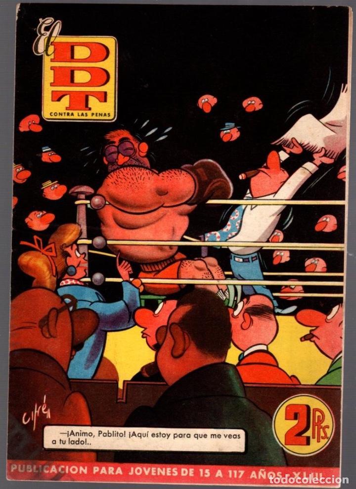 EL DDT CONTRA LAS PENAS. AÑO 1952. XLIII (Tebeos y Comics - Bruguera - DDT)