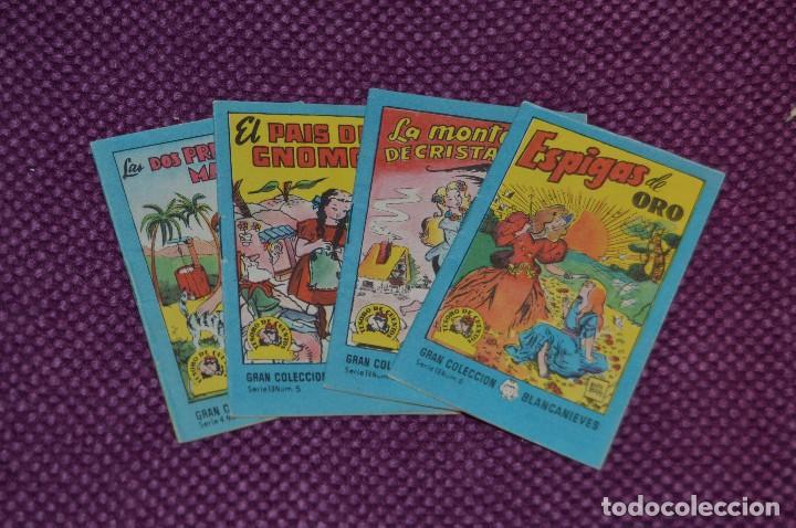 LOTE DE 4 LIBRITOS DE LA GRAN COLECCION BLANCANIEVES -TESORO DE CUENTOS - BRUGUERA ANTIGUO - VINTAGE (Tebeos y Comics - Bruguera - Otros)
