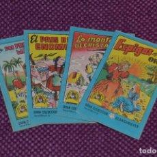 Tebeos: LOTE DE 4 LIBRITOS DE LA GRAN COLECCION BLANCANIEVES -TESORO DE CUENTOS - BRUGUERA ANTIGUO - VINTAGE. Lote 79930793