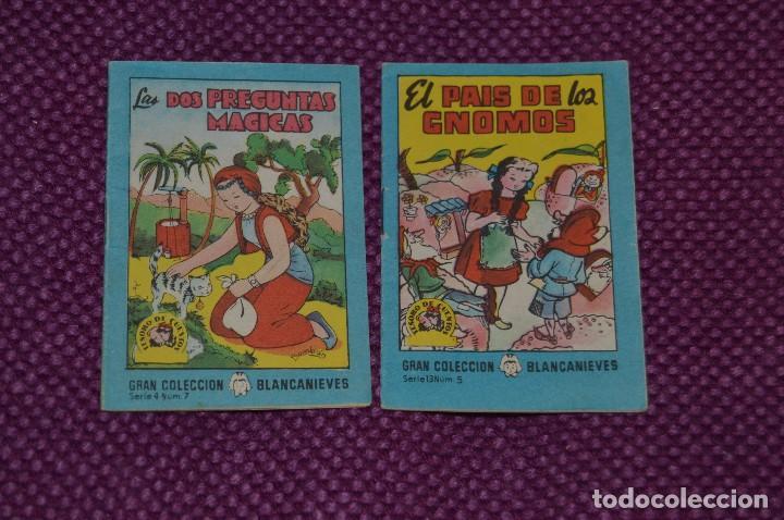 Tebeos: LOTE DE 4 LIBRITOS DE LA GRAN COLECCION BLANCANIEVES -TESORO DE CUENTOS - BRUGUERA ANTIGUO - VINTAGE - Foto 2 - 79930793