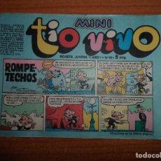 Tebeos: MINI TIO VIVO Nº 10 EDITORIAL BRUGUERA . Lote 79947953