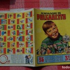 Tebeos: BRUGUERA.- PULGARCITO Nº ALMANAQUE 1950 FLAMANTE . Lote 80135509