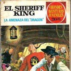 Tebeos: EL SHERIFF KING - LA AMENAZA DEL DRAGON - BRUGUERA 1975, GRANDES AVENTURAS JUVENILES Nº 4 - VER DESC. Lote 80150273
