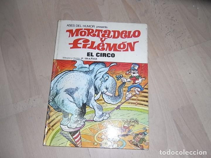 MORTADELO Y FILEMON, BRUGUERA, EL CIRCO, TOMO 27, 1973 (Tebeos y Comics - Bruguera - Mortadelo)