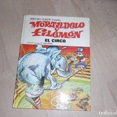 Tebeos: MORTADELO Y FILEMON, BRUGUERA, EL CIRCO, TOMO 27, 1973. Lote 80311281