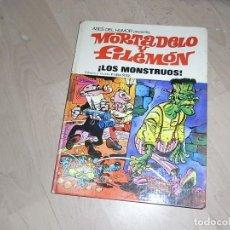 Tebeos: MORTADELO Y FILEMON, BRUGUERA,LOS MONSTRUOS, TOMO 25, 1973. Lote 80312009