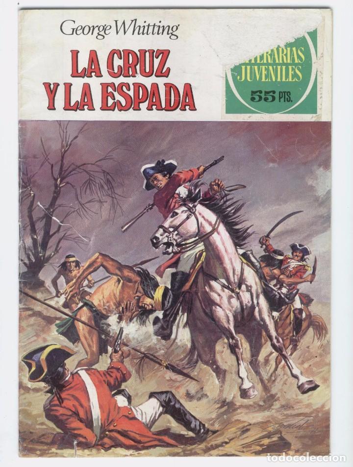 LA CRUZ Y LA ESPADA. Nº 35 (Tebeos y Comics - Bruguera - Joyas Literarias)