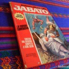 Tebeos: JABATO COLOR EXTRA ALBUM ROJO Nº 6. BRUGUERA 1970. LA CIUDAD SUMERGIDA.. Lote 80434757