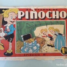 Tebeos: AVENTURAS DE PINOCHO, ORIGINAL, EPISODIO Nº 19. 1PTS. Lote 80530109