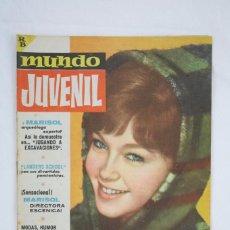 Tebeos: ANTIGUA REVISTA / CÓMIC - MUNDO JUVENIL. REVISTA DE LOS AMIGOS DE MARISOL. Nº 6 - BRUGUERA, AÑOS 60. Lote 80709294