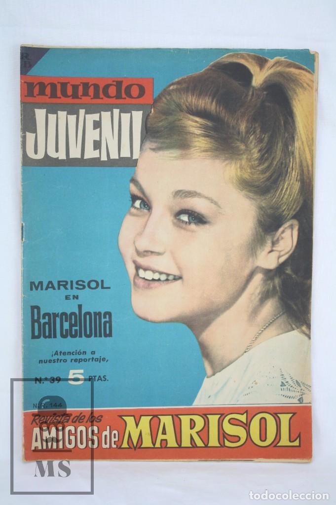 CÓMIC MUNDO JUVENIL. REVISTA DE AMIGOS DE MARISOL. Nº 39 - PETULA CLARK - BRUGUERA, AÑOS 60 (Tebeos y Comics - Bruguera - Otros)