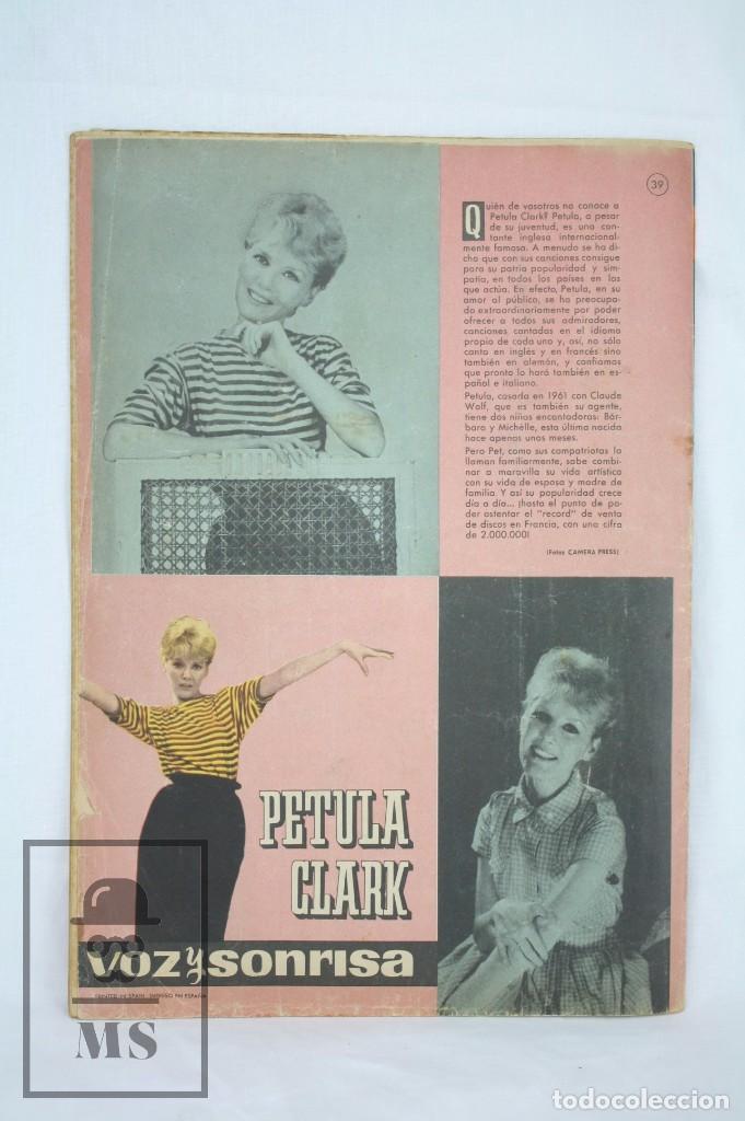 Tebeos: Cómic Mundo Juvenil. Revista de Amigos de Marisol. Nº 39 - Petula Clark - Bruguera, Años 60 - Foto 3 - 80715118