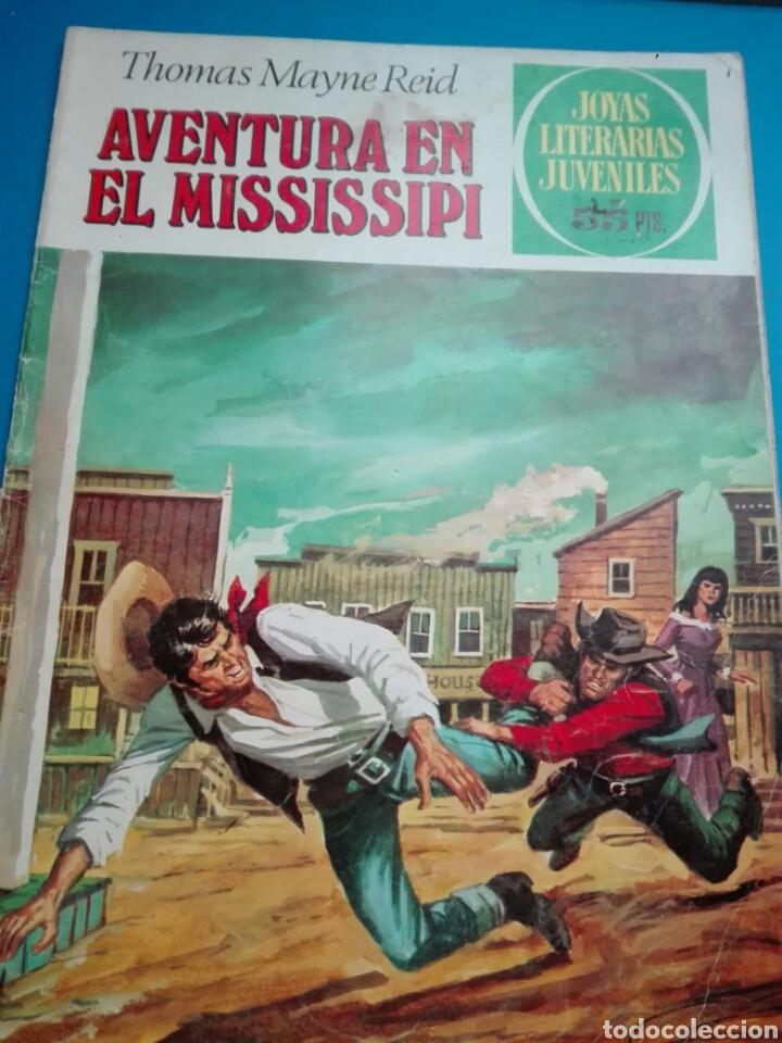 JOYAS LITERARIAS N. 159 AVENTURA EL MISSISSIPPI (Tebeos y Comics - Bruguera - Joyas Literarias)