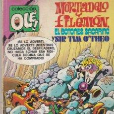 Tebeos: OLÉ MORTADELO Y FILEMÓN EL BOTONES SACARINO Y SIR TIM 0'THEO Nº 170 (M32) 1979. Lote 80816135